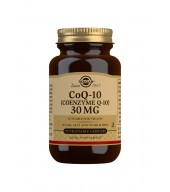 CoQ-10 (Coenzyme Q-10) 30 mg Vegetable Capsules - Pack of 90