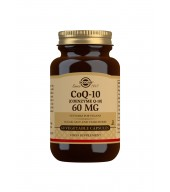 CoQ-10 (Coenzyme Q-10) 60 mg Vegetable Capsules - Pack of 60
