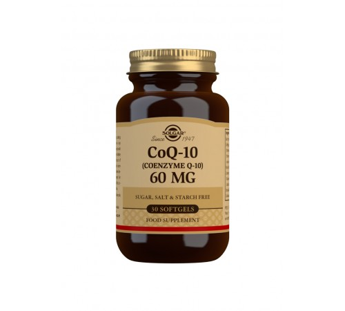 CoQ-10 (Coenzyme Q-10) 60 mg Softgels - Pack of 30
